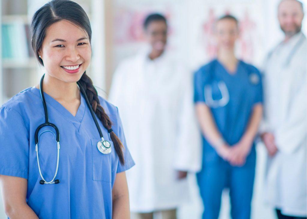 Medical Professionals including doctors and nurses